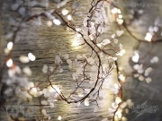 White Gemstone Stringlights - Battery